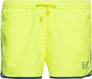 Zielone kąpielówki EA7 Emporio Armani