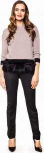 Czarny sweter potis & verso