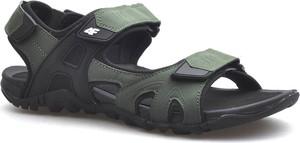 Buty letnie męskie 4F ze skóry ekologicznej