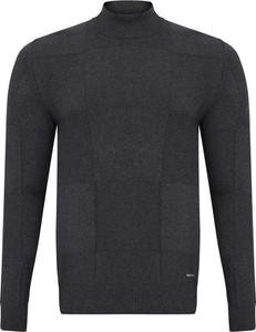 Czarny sweter Giorgio Di Mare w stylu casual z bawełny