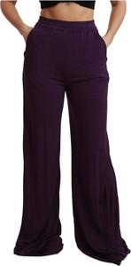 Fioletowe spodnie Dolce & Gabbana