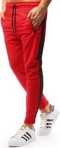 Spodnie sportowe Dstreet w sportowym stylu z bawełny