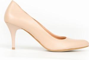 Szpilki Zapato na obcasie ze skóry