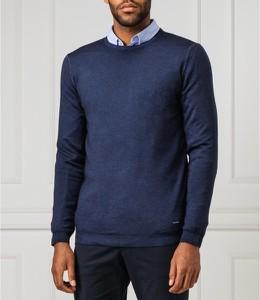 Niebieski sweter Joop! z wełny