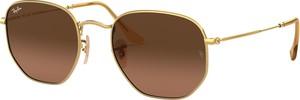 Żółte okulary damskie Ray-Ban