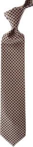 Brązowy krawat Stefano Ricci