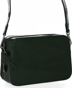 Czarna torebka Diana&Co na ramię w stylu glamour
