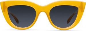 Żółte okulary damskie Meller