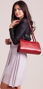 Czerwona torebka Rovicky duża
