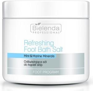 Bielenda Professional, Foot Program Refreshing Foot Bath Salt, odświeżająca sól do kąpieli stóp, 500g