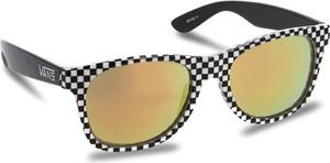 Czarne okulary damskie Vans