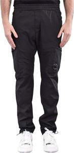 Czarne spodnie C.P. Company z bawełny