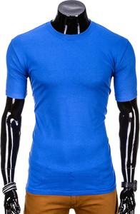 Niebieski t-shirt Edoti