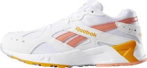 Buty sportowe Reebok z płaską podeszwą z zamszu