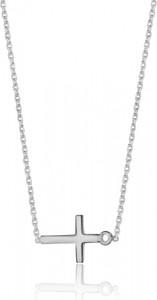 Caviallo Srebrny naszyjnik z krzyżykiem