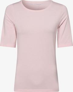 T-shirt Franco Callegari z krótkim rękawem z okrągłym dekoltem