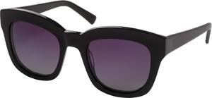 Czarne okulary damskie Pilgrim