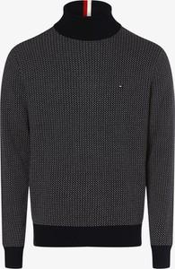 Sweter Tommy Hilfiger z golfem w stylu casual