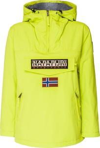 Żółta kurtka Napapijri z polaru