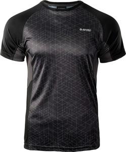 T-shirt Hi-Tec z krótkim rękawem w geometryczne wzory