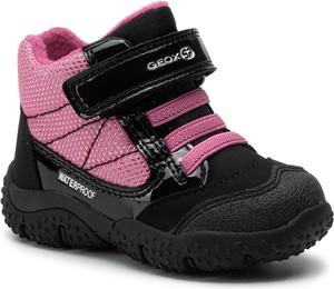 Buty dziecięce zimowe Geox z plaru