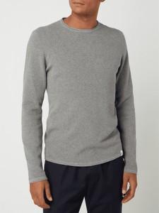 Sweter McNeal z okrągłym dekoltem w stylu casual z bawełny
