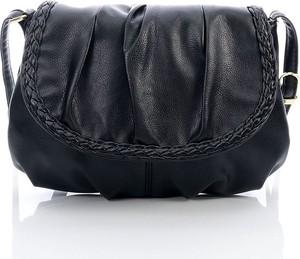 Czarna torebka JENNIFER JONES na ramię