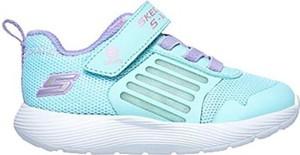 Turkusowe buty sportowe dziecięce Skechers