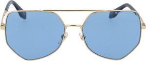 Niebieskie okulary damskie Marc Jacobs