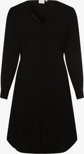 Czarna sukienka Junarose mini koszulowa w stylu casual