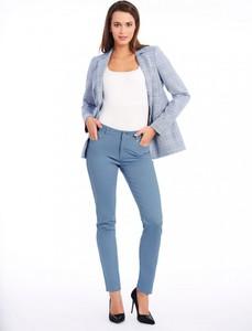 Niebieskie spodnie POTIS & VERSO z bawełny