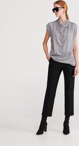 Bluzka Reserved w stylu casual z wełny