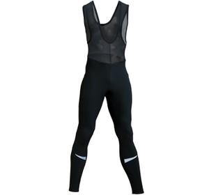 Czarne spodnie Berkner z tkaniny