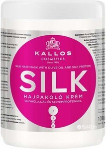 Maska Kallos KJMN 1000ml Silk (z jedwabiem)