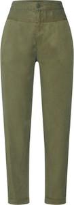 Zielone spodnie Noisy May w stylu klasycznym