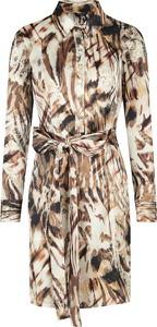 Sukienka Guess by Marciano w stylu casual z długim rękawem