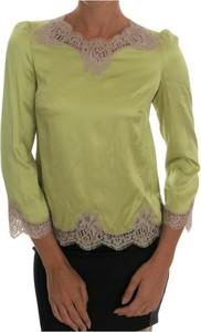 Zielona bluzka Dolce & Gabbana w stylu casual