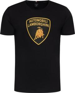 T-shirt Lamborghini z krótkim rękawem z nadrukiem