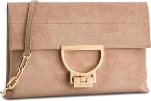 Różowa torebka Coccinelle średnia w stylu casual na ramię
