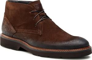 Brązowe buty zimowe Quazi