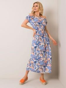Sukienka Sheandher.pl z bawełny hiszpanka maxi