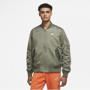 Zielona kurtka Nike krótka