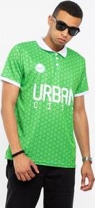 Koszulka polo Prosto. ze skóry ekologicznej