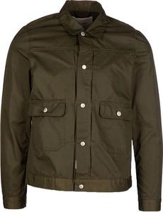 Brązowa kurtka Replay w stylu casual krótka