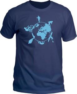 T-shirt Fjord Nansen z nadrukiem z krótkim rękawem