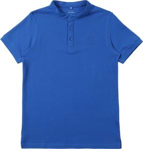 Niebieska koszulka dziecięca Name it