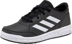 Czarne trampki dziecięce Adidas Performance sznurowane