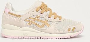 Buty sportowe ASICS ze skóry sznurowane z płaską podeszwą