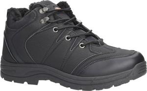 Buty trekkingowe Casu sznurowane w sportowym stylu
