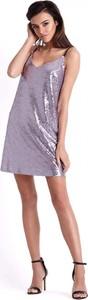 Sukienka Ivon w stylu casual mini